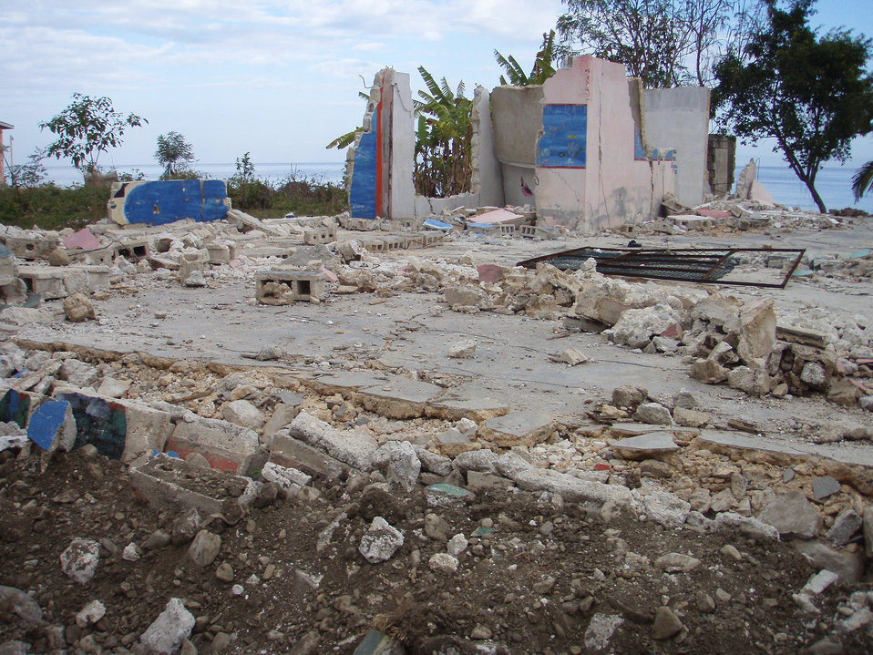 Depicted here, is some of the devastating damage inflicted upon the country of Haiti in the aftermath of the 2010 earthquake. This image was