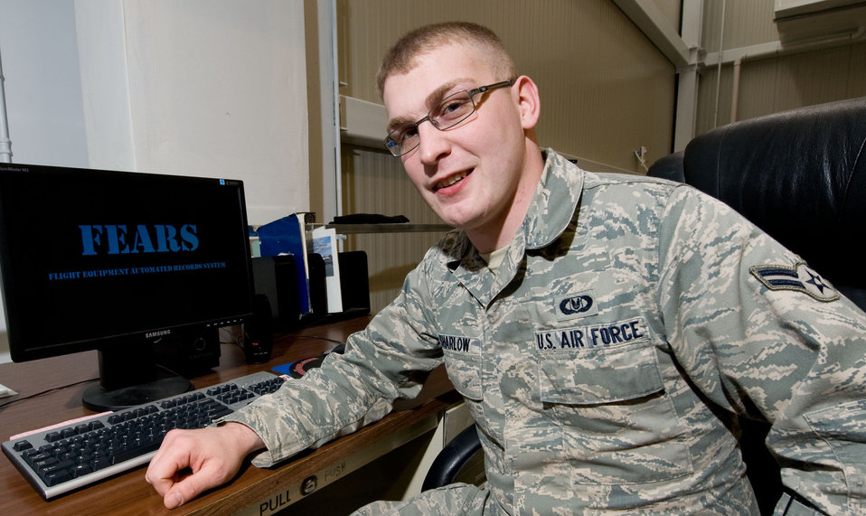 Airman creates important database