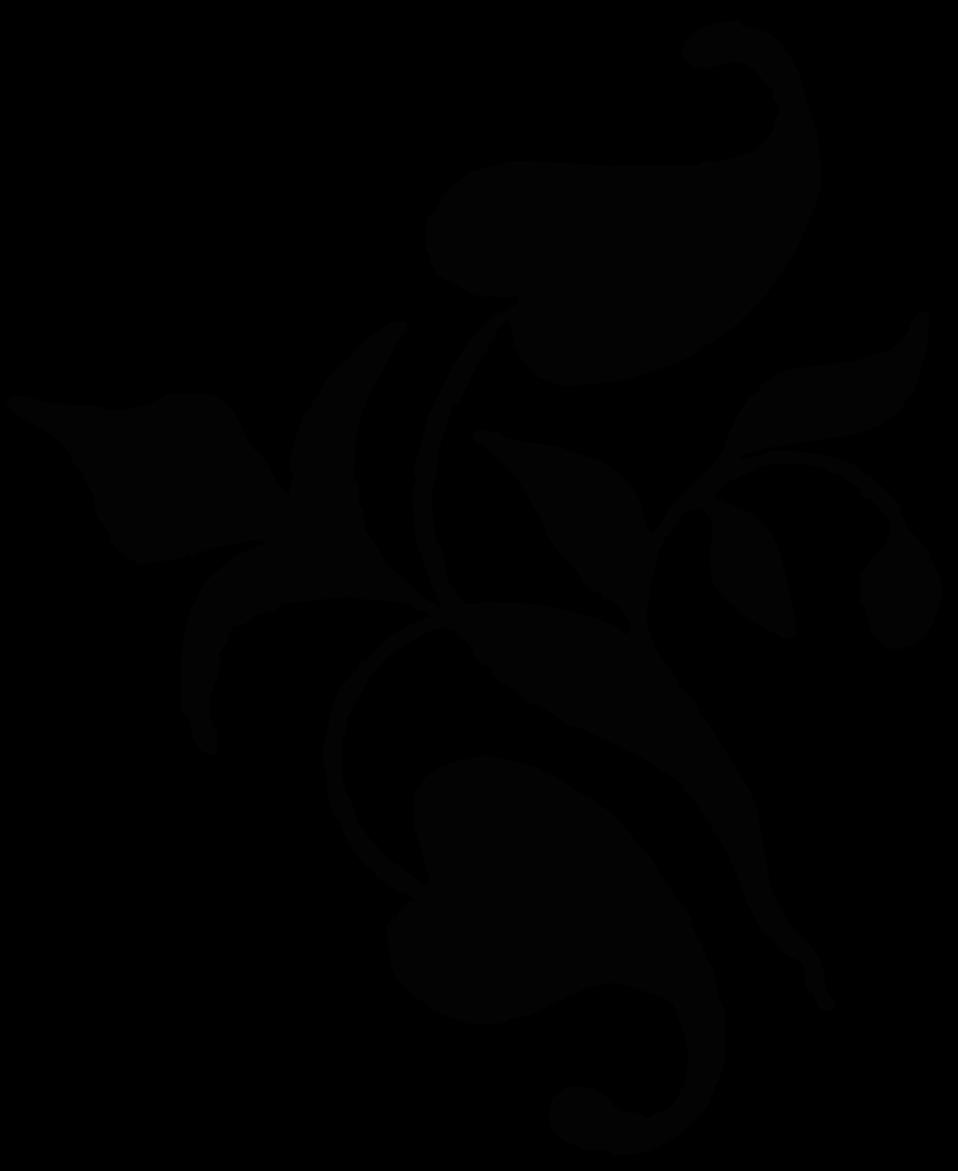 Ornamental vine leaves 1879