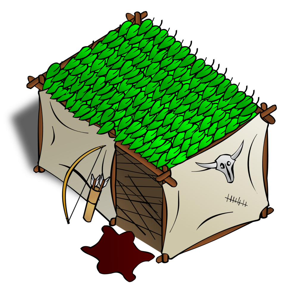 RPG map symbols: Hunter