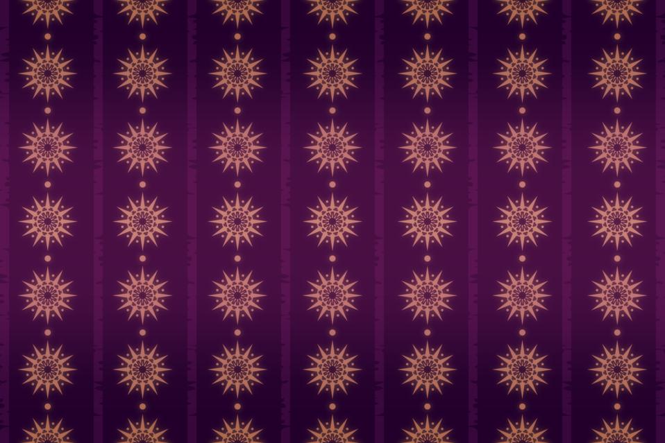 Background Patterns - Aubergine