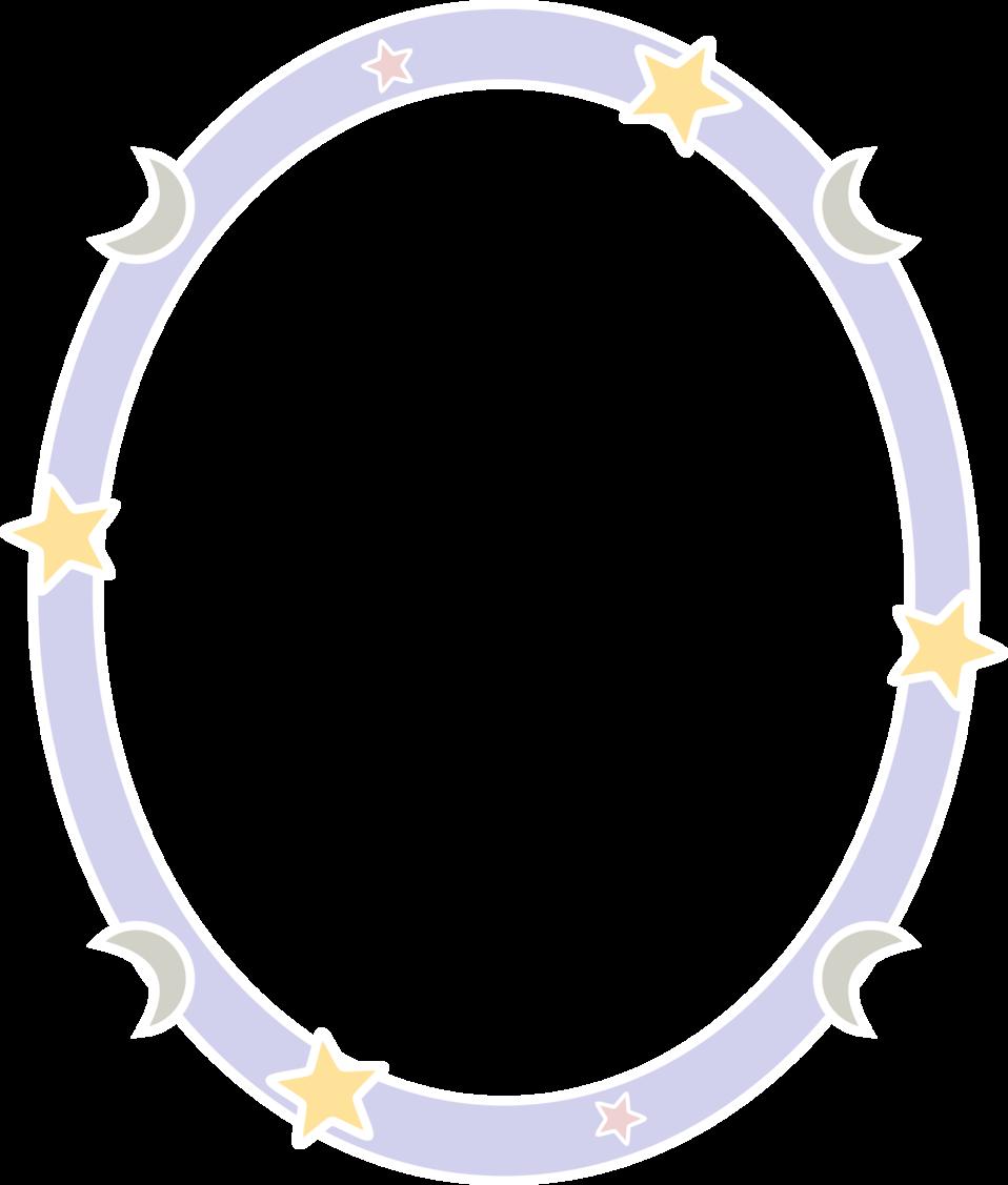 Starry night frame