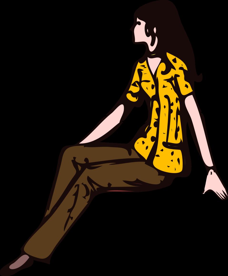 Architetto -- ragazza seduta