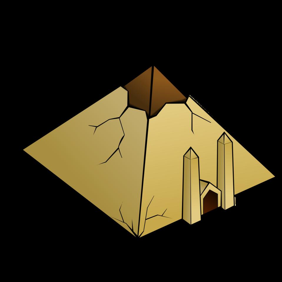RPG map symbols: Pyramid
