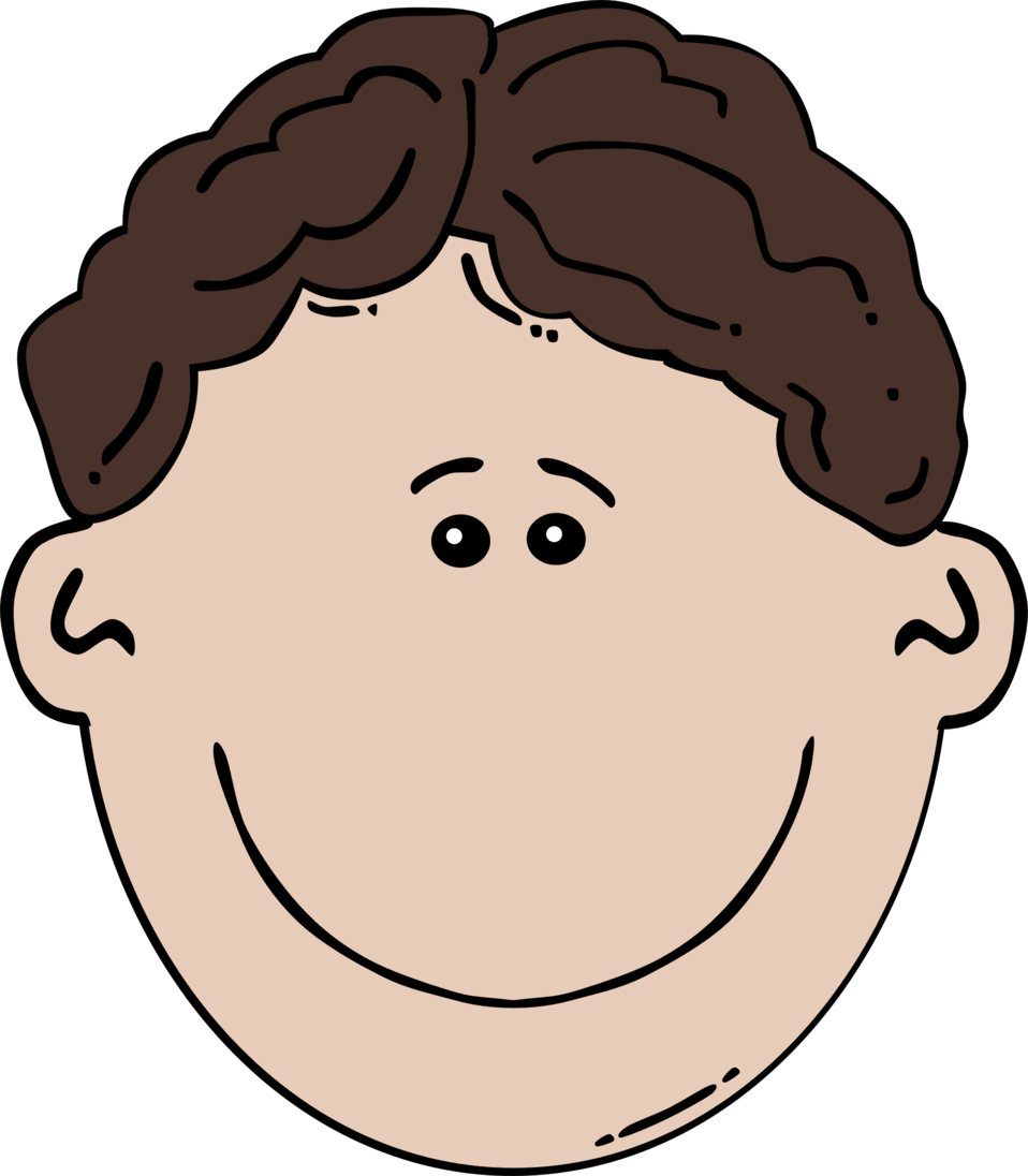 Boy Face Cartoon