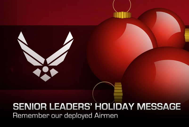Senior Leaders' Holiday Message