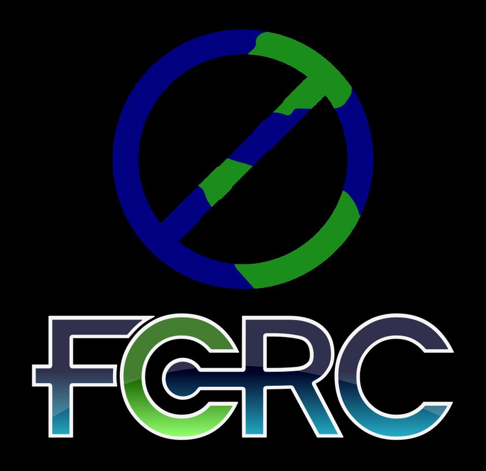 FCRC logo globe/money