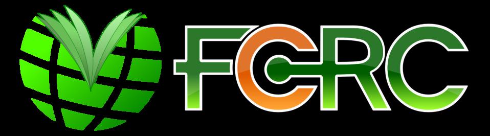 FCRC globe/book logo