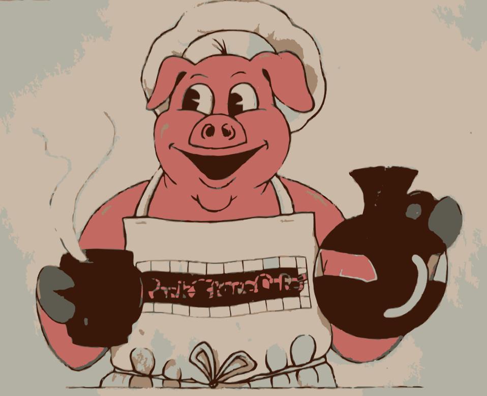 Eating Breakfast like Pig 1