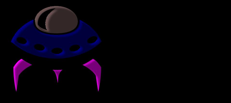 Alien Spaceship Icon