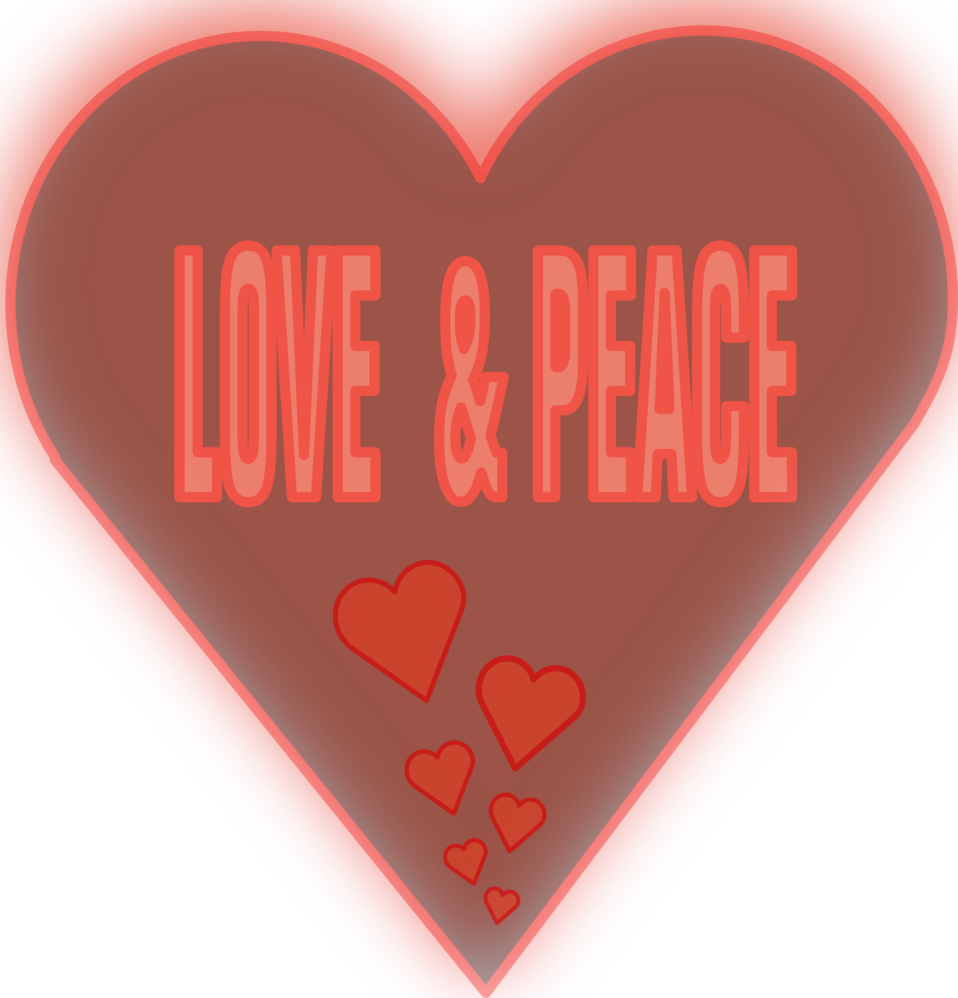 Love and Peace in a heart