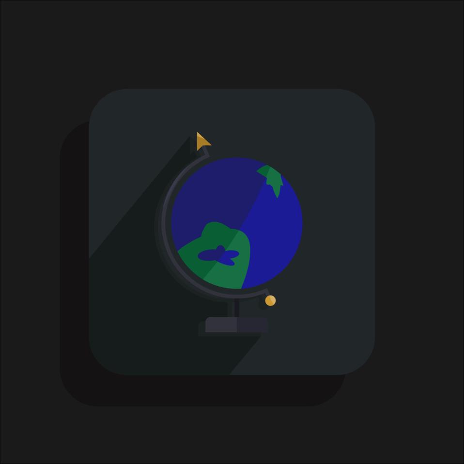 Inaccurate Globe Icon