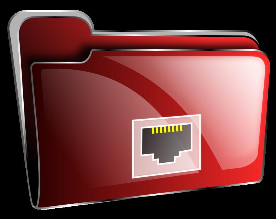 Folder icon red net
