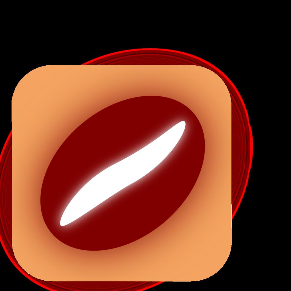 coffe bean, icon