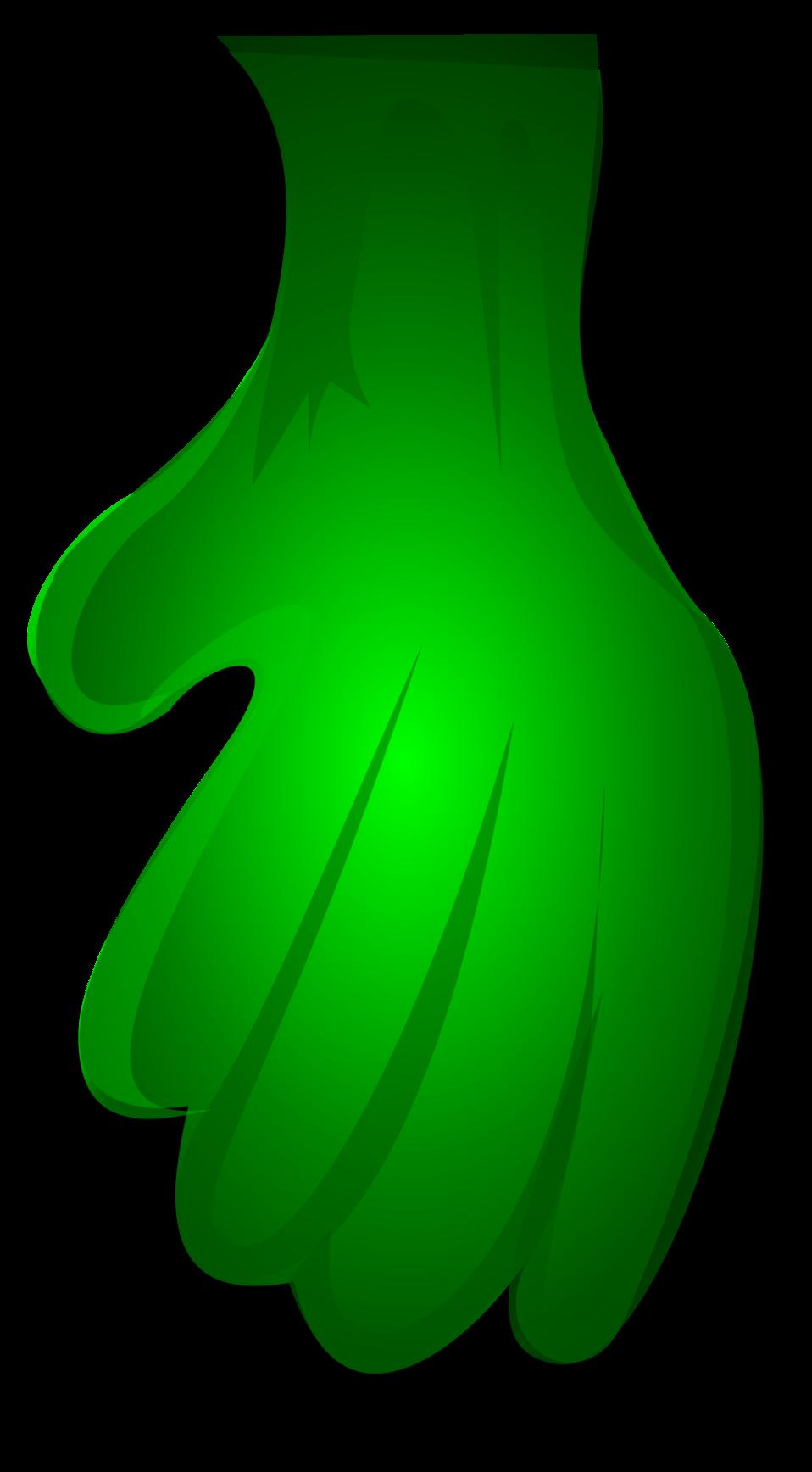Green Monster Hand 1