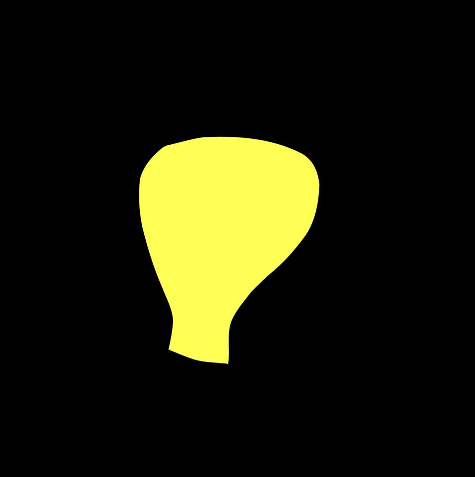 Light bulb aglow