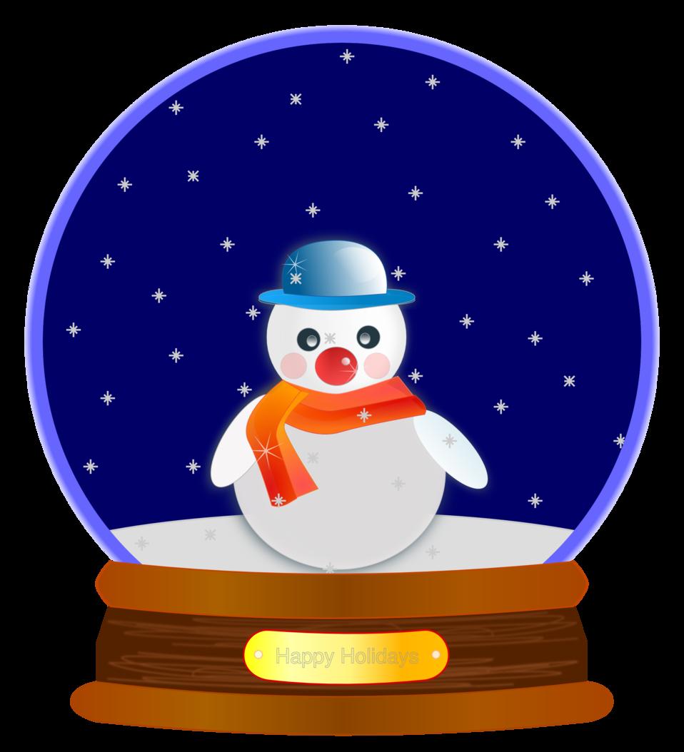 Animated Snow Globe
