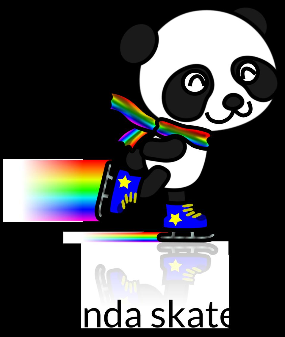 Panda Skater Recolored