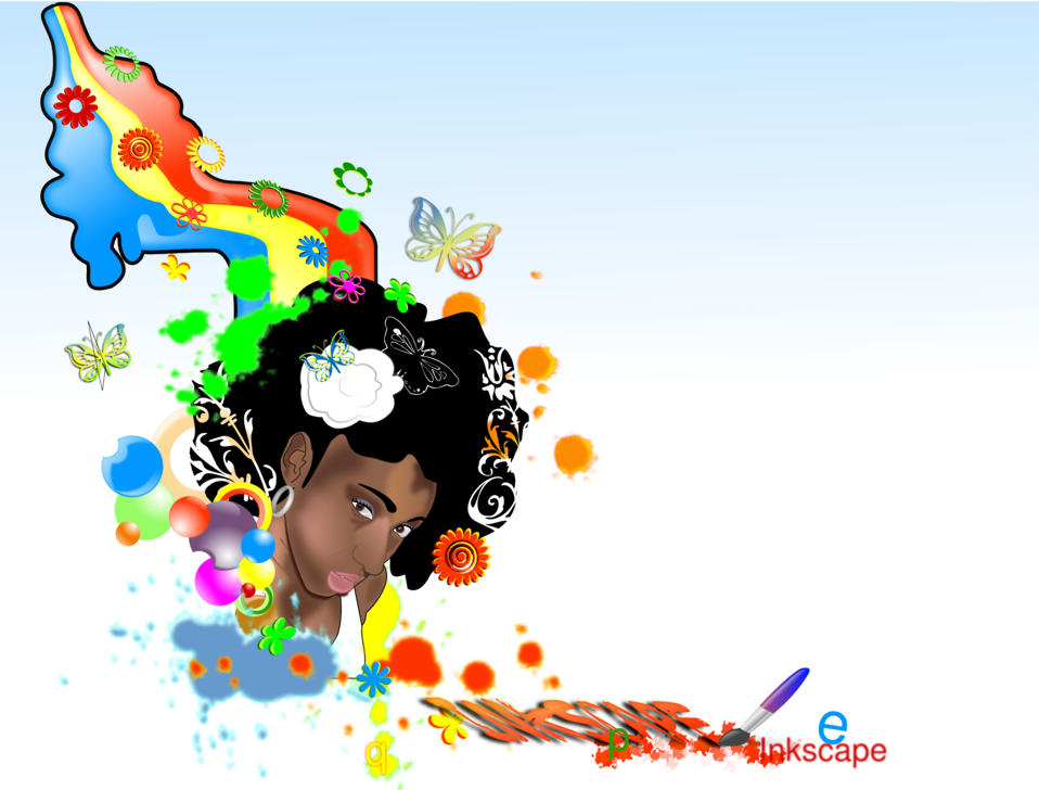 Black-Woman-rainbow
