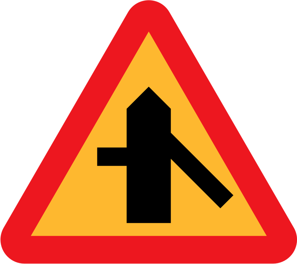 Roadlayout sign 3