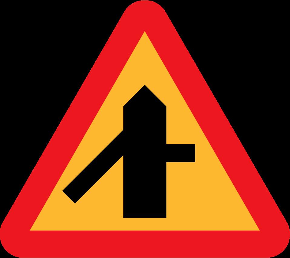 Roadlayout sign 4