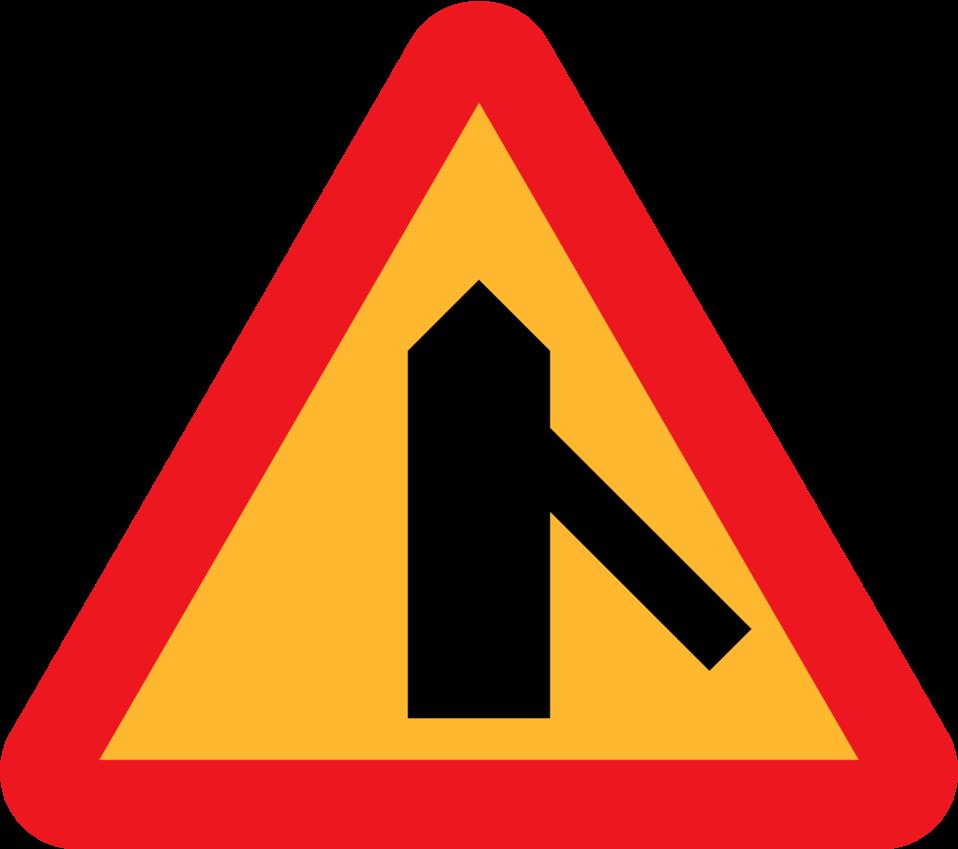 Roadlayout sign 7