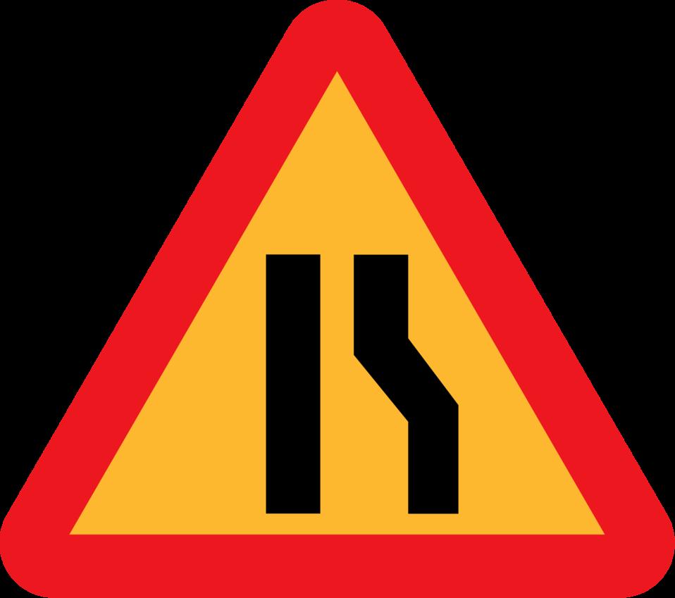 Roadlayout sign 9