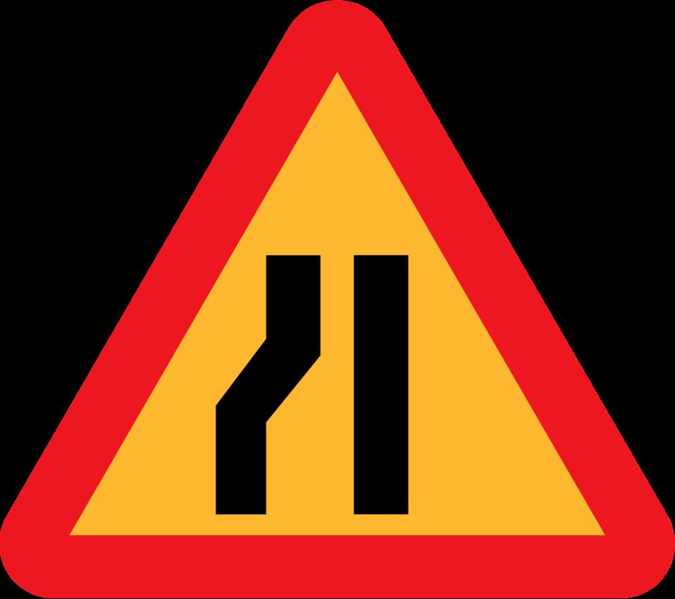 Roadlayout sign 10
