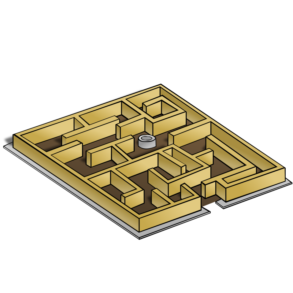 RPG map symbols: Maze