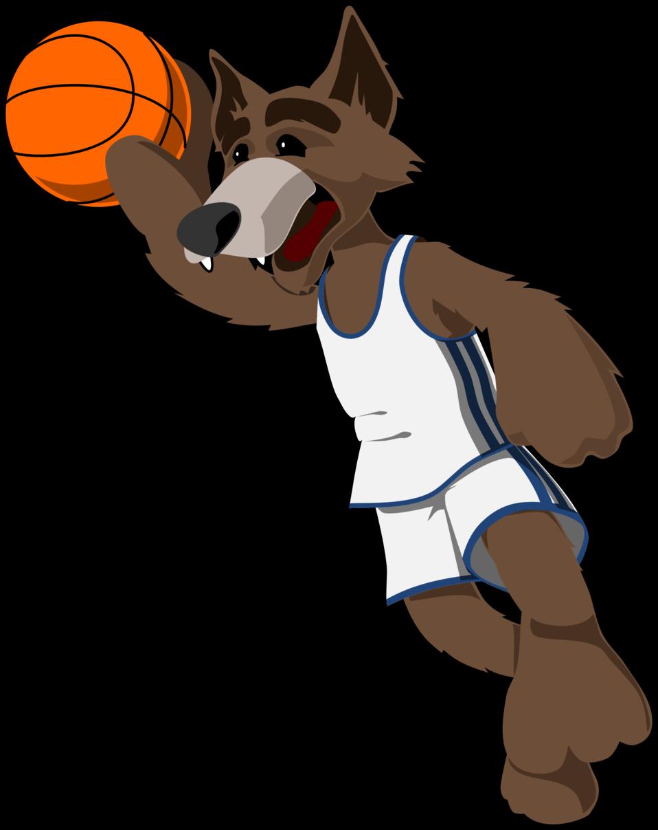 basketball wolf