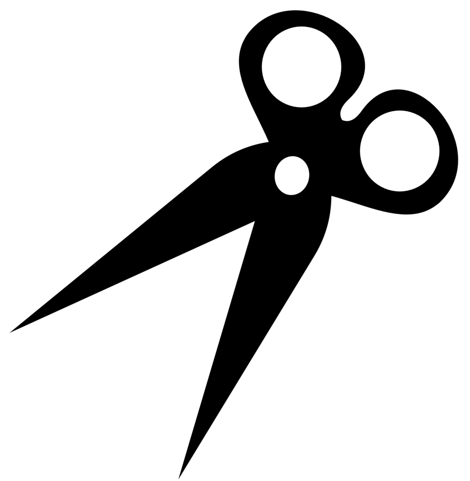 scissors silhouette