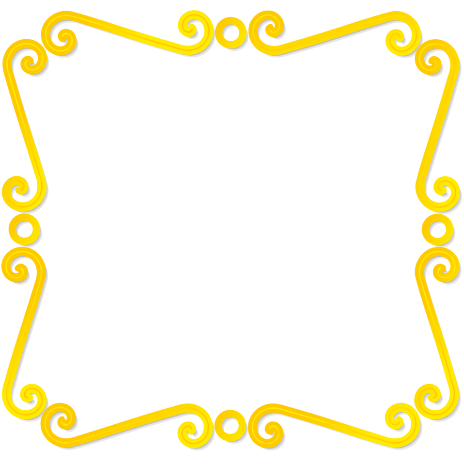 Rectangular border