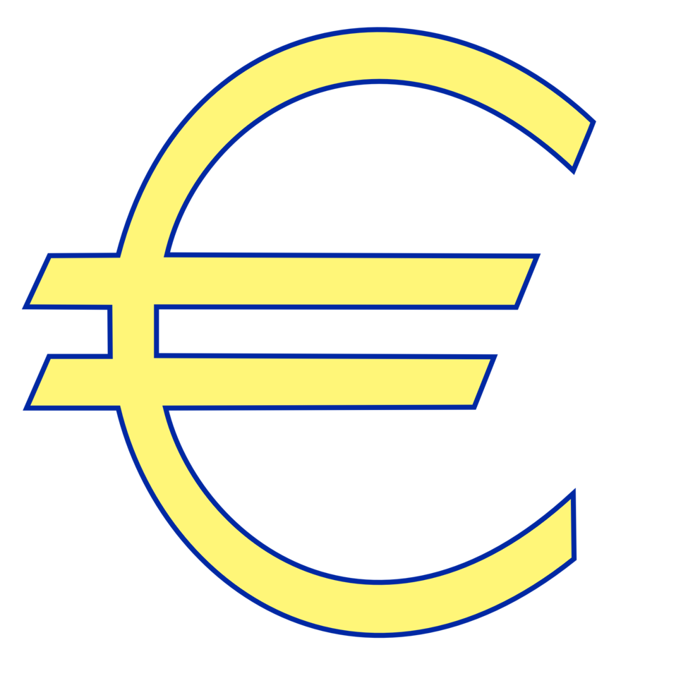 Money euro symbol