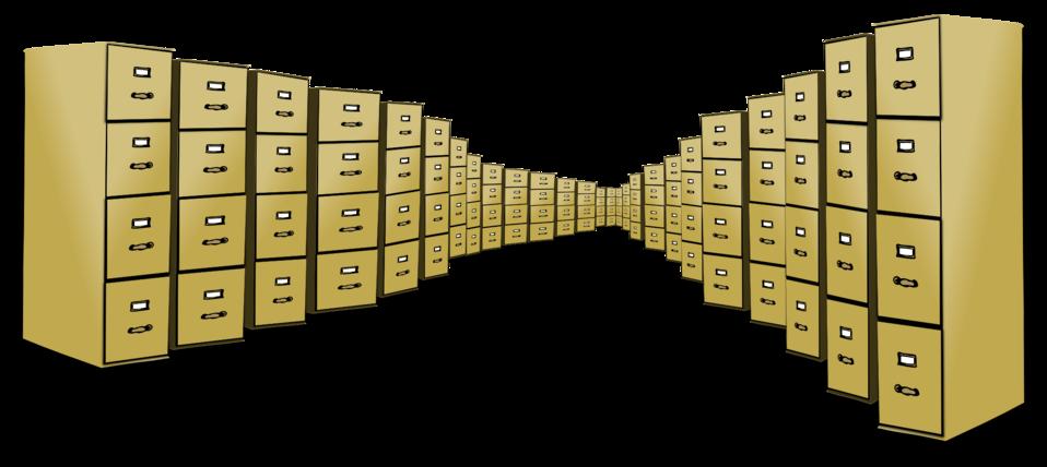 Public Domain Clip Art Image Filing Cabinet Overload ID