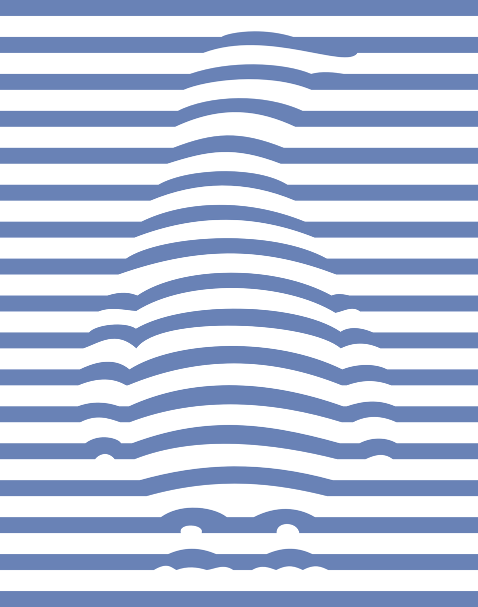 Penguin 3D illusion