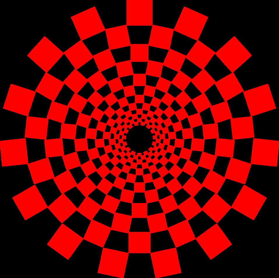 Optical Illusion Spiral
