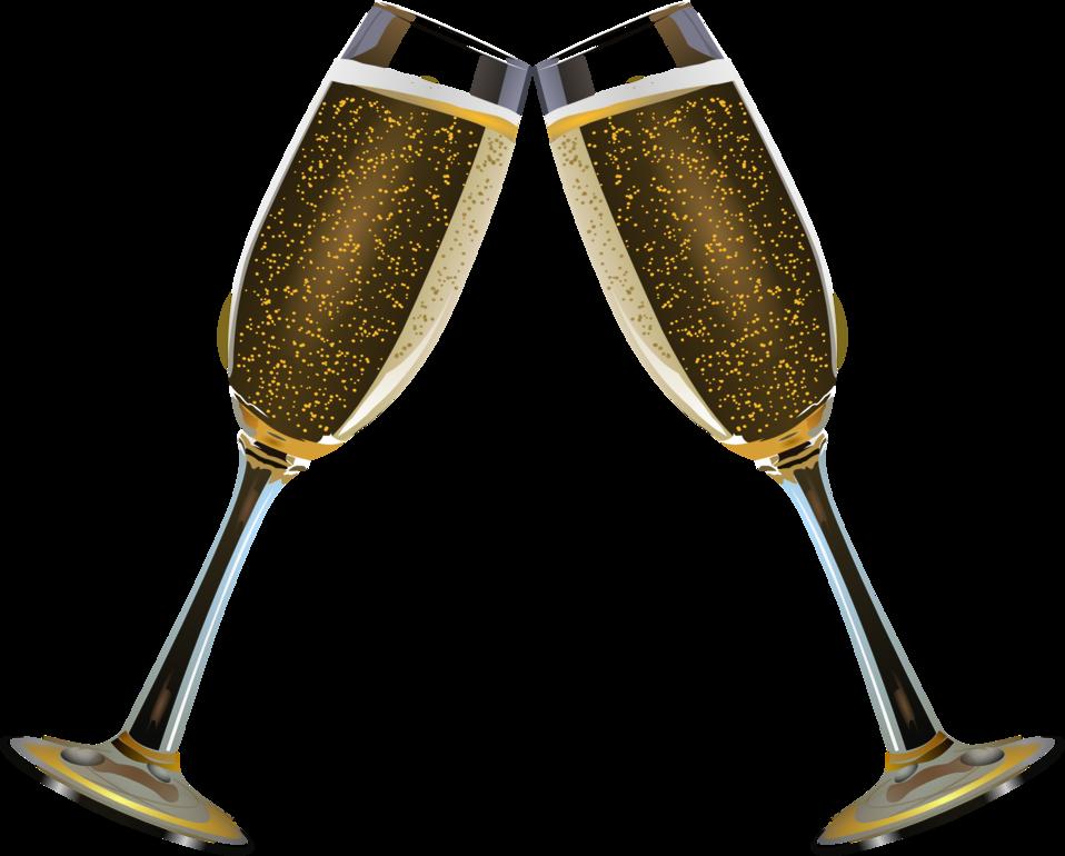 Champagne Glass Remix 3