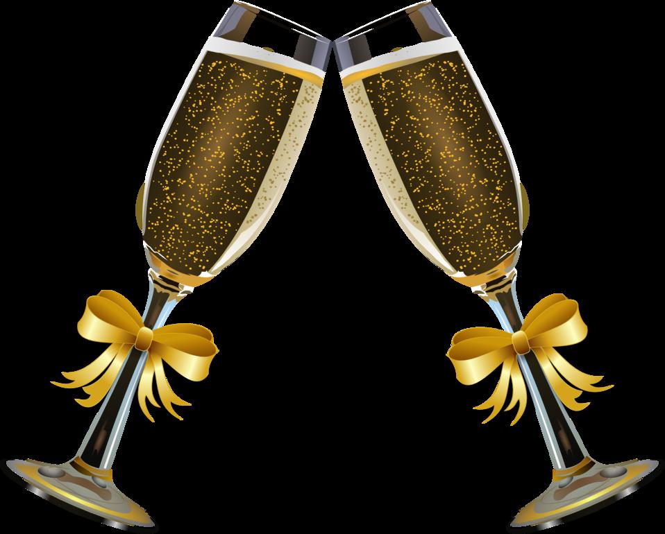 Champagne Glass Remix 4