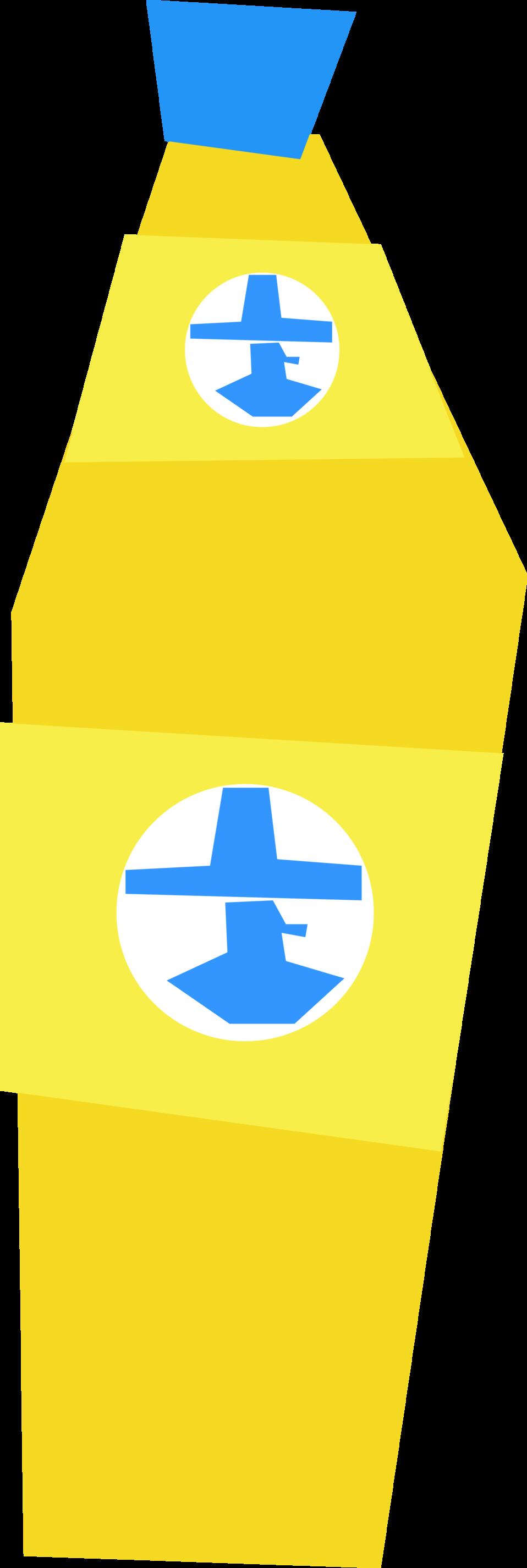 Simple Cartoon Energy Drink Bottle