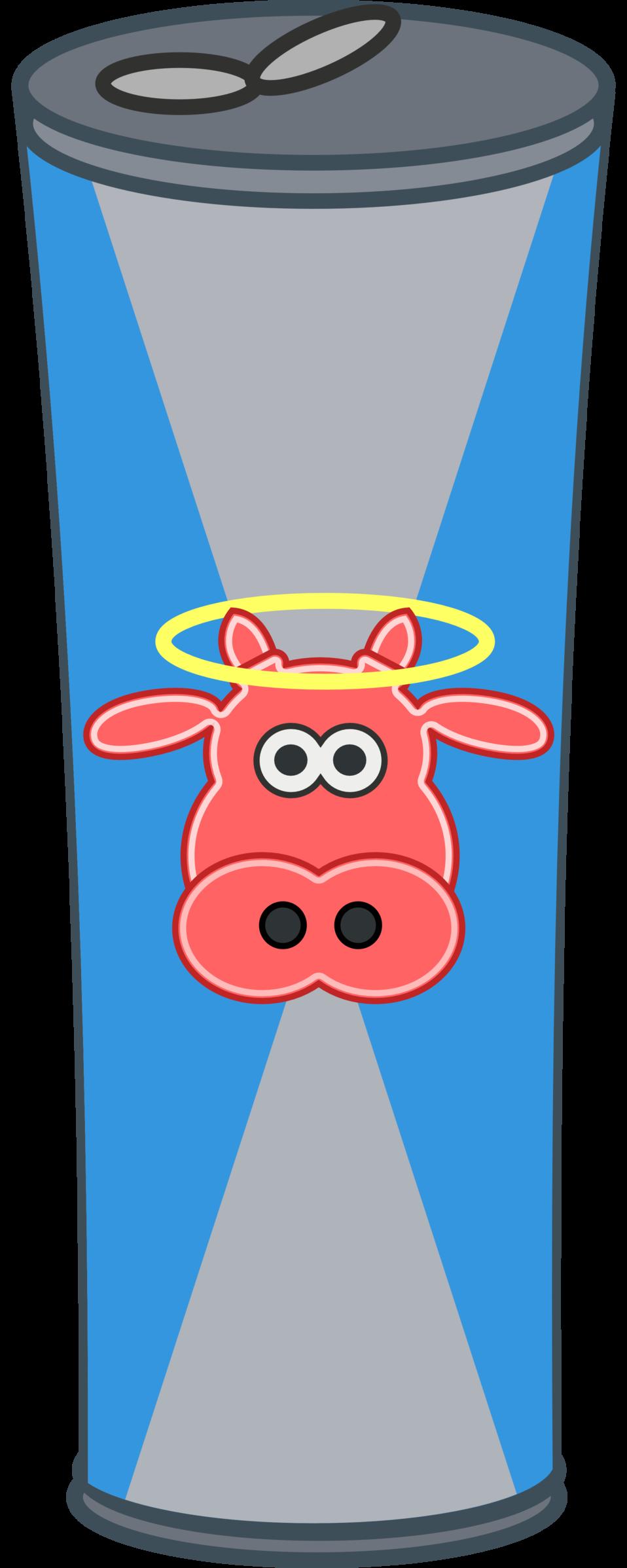 Simple Cartoon Energy Drink Can