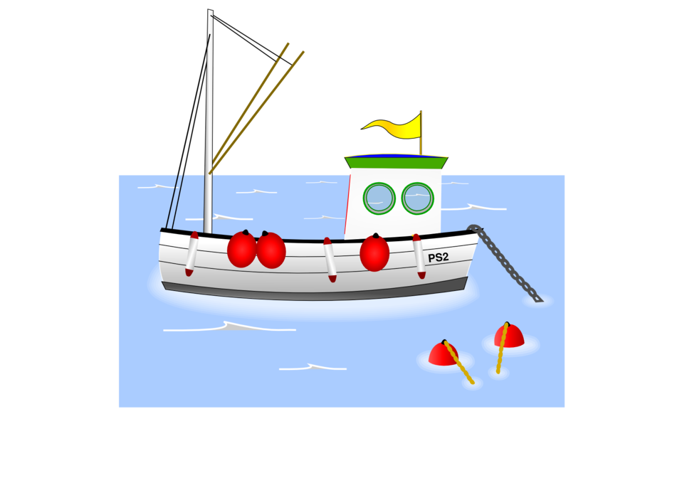 Old Fashioned Fishing Boat