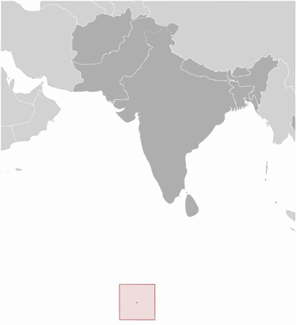 British Indian Ocean Territory location