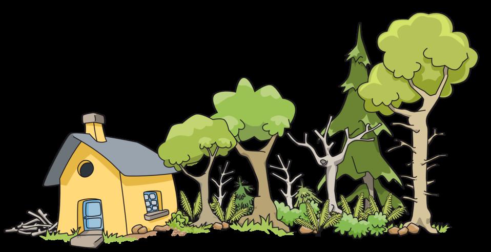 Maison dans le bois - House in woods