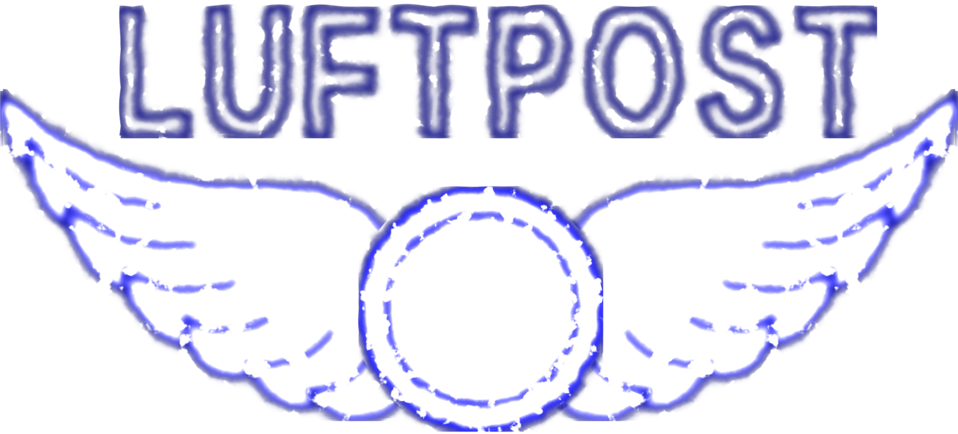 Public Domain Clip Art Image | Vintage Luftpost Rubber Stamp