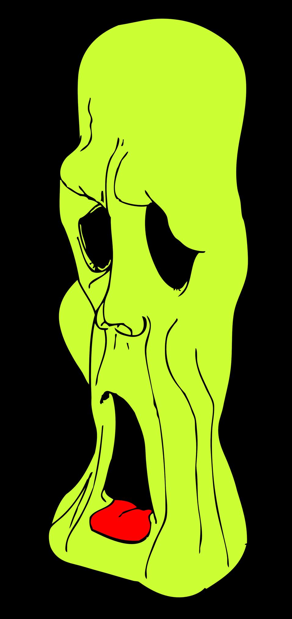 ghoul head