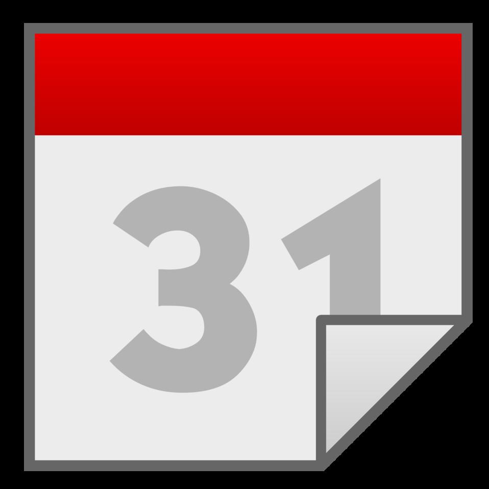 Calendar file icon