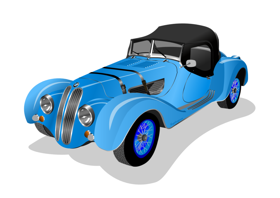 BMW 328 Roadster 1938 (blue)