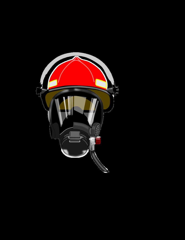 fire helmet/mask