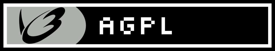 AGPL License Web Badge (Version 2)