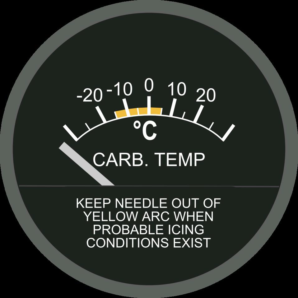 Carburetor Air Temperature Gage